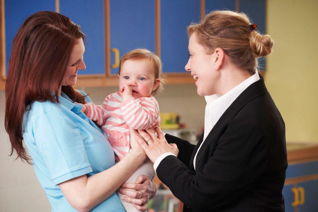 Lien entre parents et professionnelles
